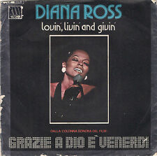 DISCO 45  GIRI     DIANA ROSS - LOVIN', LIVIN' AND GIVIN' // TOP OF THE WORLD