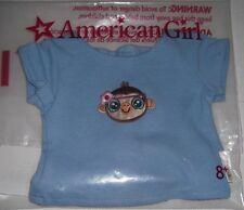 American Girl Doll Tee Shirt w Funky Monkey Chimp on tshirt New Cute for Julie