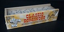 Classic Dominoes Tile Set Traditional Game New in Sealed Box