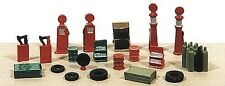 Railway Express Miniatures 2181 N Deluxe Gas Station Accessoroes
