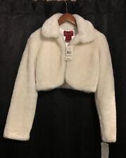 Vintage ParisBlues Winter White Fur Outerwear /GOTTSHALKS Size S NWT