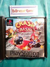 CRASH BASH PLATINUM ps1 game no sleeve playstation fast post