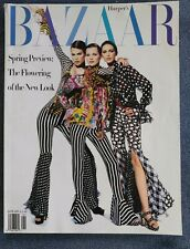 Harpers Bazaar January 1993, featuring Karl Lagerfeld and early Marc Jacobs
