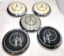5x Mercedes Benz Ponton Radblenden Radkappen W120 180 190 SL W180 300