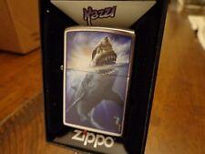 GREAT WHITE SHARK ATTACK MAZZI ZIPPO LIGHTER MINT IN BOX