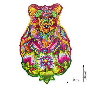Wood Trick - Holz Tier Puzzle Spirit Bear Bär 184 Teile