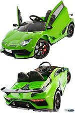 Kinderfahrzeug Kinderauto Lamborghini 12V Kinder Elektro Auto MP3 USB Ledersitz