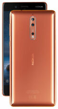 Nokia 8 - 64 GB Dual Sim (Unlocked) Smartphone - Polished Copper