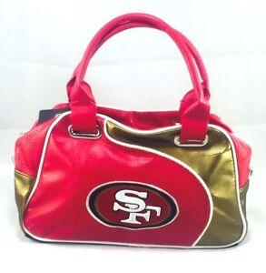 NFL Team Perfect Bowler Purse Hand Bag