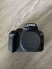 Canon EOS Rebel T7 DSLR Camera (Body Only): Black
