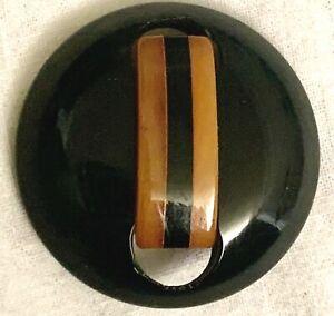 Vintage 2-Color Bakelite Button
