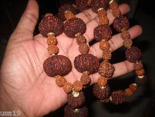 Rudraksha Siddeshwar Siddha Mala 1 to 14 Mukhi +Gauri Shankar Ganesha Rudraksha