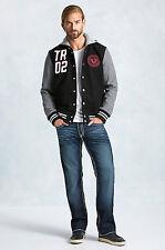 True Religion Men's Hand Picked Straight Super T Brand Jeans rush riverMMA859TE6