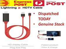 For iPhone iPad X 8 XR 6 Lightning To HDMI Video Adapter FHD 4K USB Cable