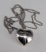 JETTE Joop Kette mit Anhänger Herz zum öffnen, 925 Silber (A-T 320)