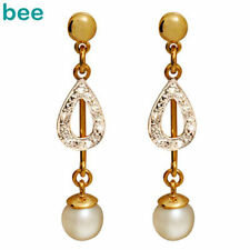Pearl Diamond Fine Earrings
