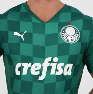 Puma Palmeiras 2021 Home Jersey  - FutFanatics- New Original