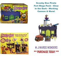 Scooby Doo Pirate Fort Mega Pack - Glow in the Dark - Working Cannon & More!