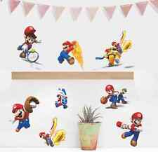 Games Super Mario Bros Vinyl Art Wall Stickers Vinyl Decal UK
