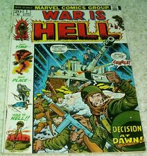 War is Hell 1, (FN- 5.5) 1973 Williamson art! 40% off Guide