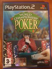 WORLD CHAMPIONSHIP POKER - PLAYSTATION 2 PS2 USATO