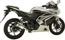 DG Performance Slip On Muffler Exhaust V2 For Kawasaki Ninja 250R 08-12 075-8250