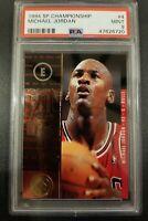 1994 SP Championship Basketball #4 Michael Jordan PSA 9 HOF 47626720 Low Pop