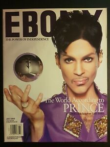 EBONY / July 2010 Special Prince (10 pages) Exclusive interview