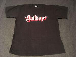 Bulldozer Shirt Large Italian Black Metal Thrash Punk Venom