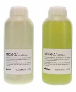 Davines Momo Moisturizing Shampoo & Conditioner Set Duo - 33.8oz, 1000ml - NEW