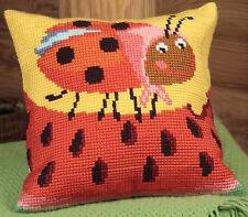 Collection D'Art Cross Stitch Cushion Kit: Miss Pott CD5022