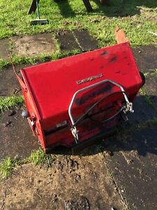 Countax Ride On Mower Back Grass Leaf Powered Sweeper & Collector bag Box C600H