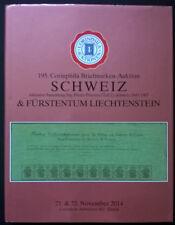 Auction catalogue SCHWEIZ 1843-1907 Sitzende Helvetia ungezahnt 1854-62