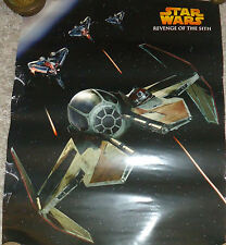 "Star Wars #114 poster, Revenge of the Sith, starship, 20"" x 16"""