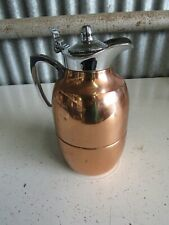 ALFI 1L Copper Chrome Thermal Carafe Coffee Tea Water Pitcher Made In Germany
