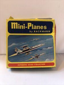 VINTAGE BACHMANN MINI-PLANES LOCKHEED F-104 STARFIGHTER 1:210 SCALE ORIGINAL BOX