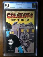 Creatures of the Id #1 (1990) - Caliber Press! 1st Madman  - CGC 9.8!!! - Key!