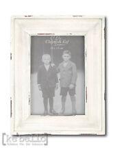 Marcos blanco madera 17x22 Clayre & Eef foto marco Shabby Chic 10x15