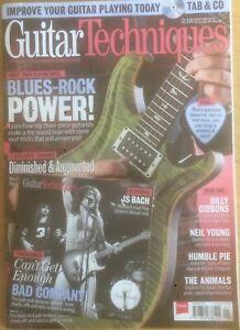 Guitar Techniques magazine & CD: January 2015