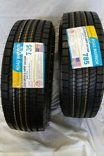(2-Tires) 225//70R19.5 ALL POSITION  ROAD WARRIOR 14 PLY HEAVY DUTY 22570195