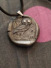 tétradrachme Athènes Chouette médailles pendentif