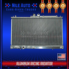 2 ROW CORE RACING ALL ALUMINUM RADIATOR FOR 03-08 MITSUBISHI LANCER EVO 7 8 9 MT