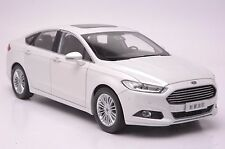 Ford Mondeo 2013 car model in scale 1:18 white