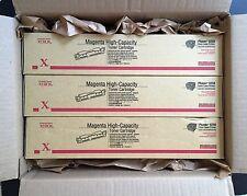 LOT: Genuine XEROX Phaser 6250 MAGENTA High Capacity Toner Cartridges 106R00673