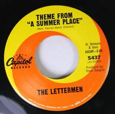 "Pop 45 The Lettermen - Theme From ""A Summer Place"" / Sealed With A Kiss On Capit"
