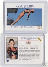 RARE 1992 OLYMPIC WENDY LIAN WILLIAMS PROTOTYPE CARD ~ MULTIPLES AVAILABLE