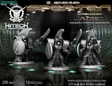 Hitech Miniatures - 28SF031 Spartan Commander Agis 28mm Warhammer 40k 40000