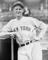 New York Yankees HERB PENNOCK Glossy 8x10 Photo Vintage Baseball Print Poster