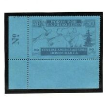 HONDURAS Air Mail Stamp *Central America Airlines* 1927 RARE NO SURCHARGE MA260
