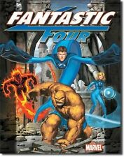 Marvel Comics Classic Fantastic Four Comic Art Vintage Tin Sign Poster UNUSED